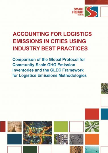 Accounting for logistics emissions in cities using industry best practices